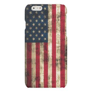 Vintage Grunge American Flag Matte iPhone 6 Case