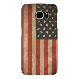 Vintage Grunge American Flag - USA Patriotic