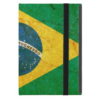 Vintage Grunge Brazil Flag iPad Mini Cover