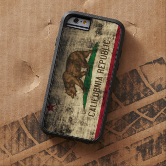 Vintage Grunge California Flag Tough Xtreme iPhone 6 Case