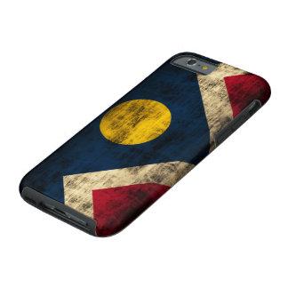 Vintage Grunge Denver Colorado Flag Tough iPhone 6 Case