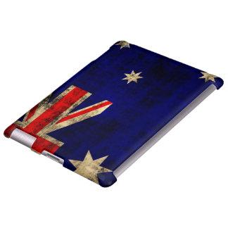 Vintage Grunge Flag of Australia