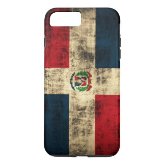 Vintage Grunge Flag of Dominican Republic iPhone 7 Plus Case
