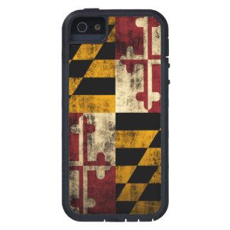 Vintage Grunge Flag of Maryland Case For iPhone 5