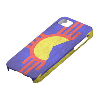 Vintage Grunge Flag of Roswell New Mexico iPhone 5 Cover