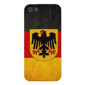 Vintage Grunge Germany Flag Deutschland Flag Case For iPhone 5/5S