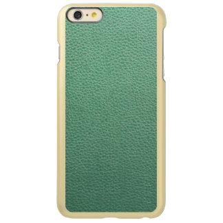 Vintage Grunge Green Leather Pattern