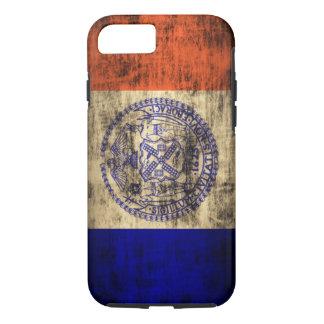 Vintage Grunge New York City Flag iPhone 7 Case