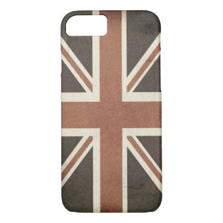 Vintage Grunge Punk British Flag iPhone 7 Case
