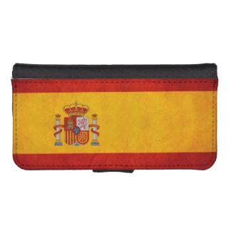 Vintage Grunge Spain Flag - Bandera de España Phone Wallet Cases