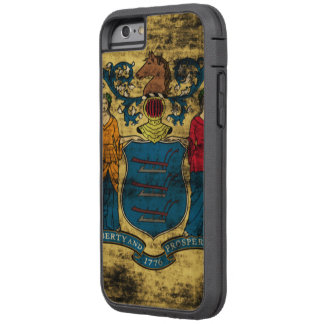 Vintage Grunge State Flag of New Jersey Tough Xtreme iPhone 6 Case