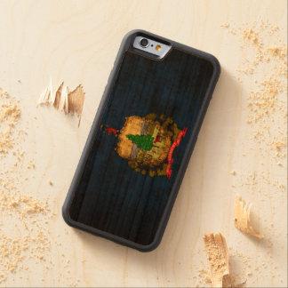 Vintage Grunge State Flag of Vermont Cherry iPhone 6 Bumper Case