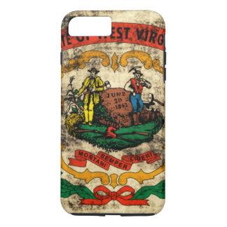 Vintage Grunge State Flag of West Virginia iPhone 7 Plus Case