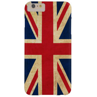 Vintage Grunge United Kingdom Flag Union Jack Barely There iPhone 6 Plus Case