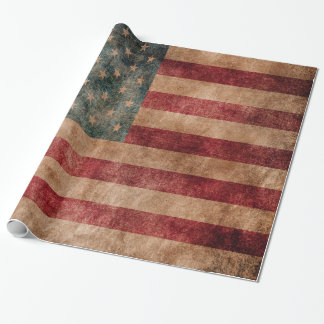 Vintage Grunge USA Stars & Stripes Flag