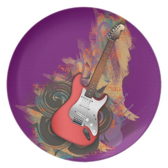 Vintage Guitar - custom background plates