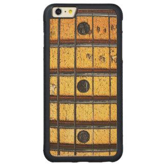 Vintage Guitar Frets Carved® Maple iPhone 6 Plus Bumper Case