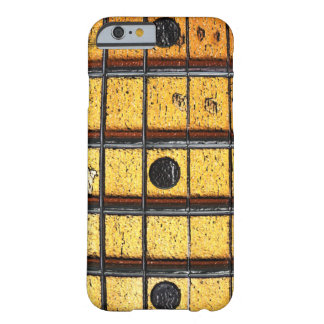 Vintage Guitar Frets iPhone 6 ID™ Barely There iPhone 6 Case