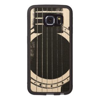 Vintage Guitar Wood Phone Case