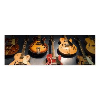 Vintage Guitars Business Cards