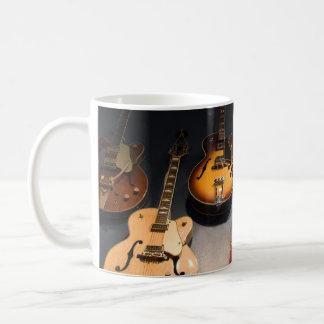 Vintage Guitars Coffee Mug