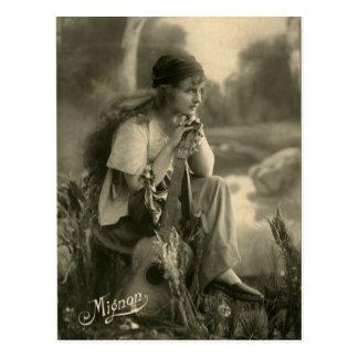 Vintage Gypsy Postcard