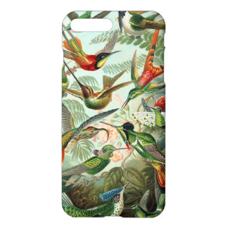 Vintage Haeckel Hummingbirds iPhone 8 Plus/7 Plus Case