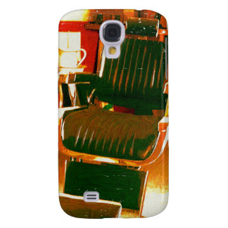 Vintage Hair Salon Galaxy S4 Covers