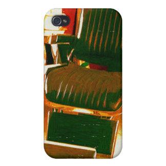 Vintage Hair Salon iPhone 4/4S Case