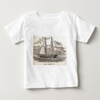 Vintage Halibut Schooner Baby T-Shirt