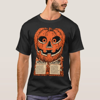 Vintage Halloween - 1920s Jack O Lantern Shirt