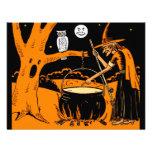 Vintage Halloween Art  Invitations