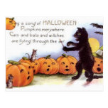 Vintage Halloween Art Postcard