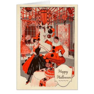 Vintage Halloween Card, Circa 1920 Card
