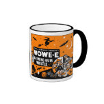 Vintage Halloween Chewing Gum Whistle Coffee Mugs
