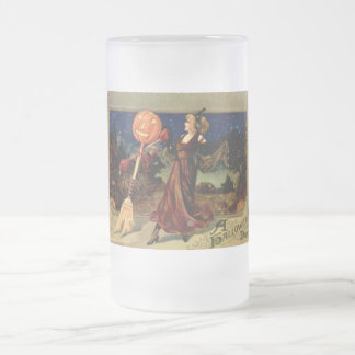 Vintage Halloween Dance Mugs and Steins