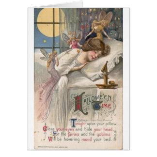 Vintage Halloween Fairies & Goblins, Card