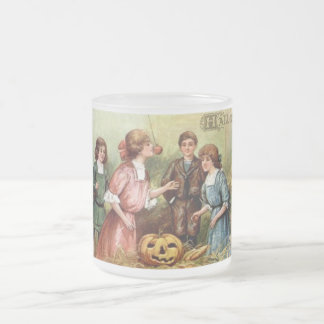 Vintage Halloween Games Mug