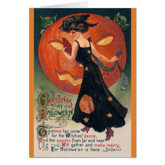 Vintage Halloween - Good Witch or Bad Witch?, Card