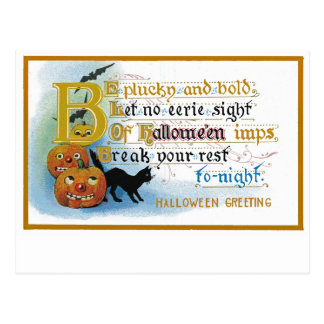Vintage Halloween Greeting Card Postcards