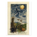 Vintage Halloween Greeting Cards Classic Posters