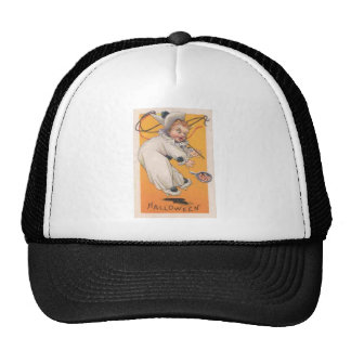 Vintage Halloween Greeting Cards Classic Posters Trucker Hats