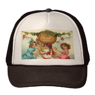 Vintage Halloween Greetings Trucker Hat