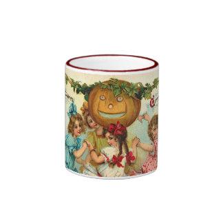 Vintage Halloween Greetings Coffee Mugs