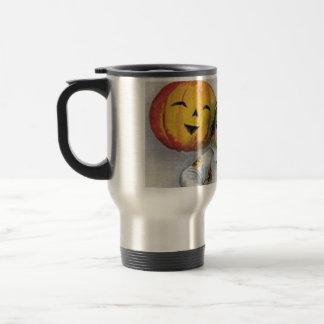 Vintage Halloween Greetings Coffee Mug
