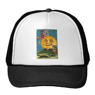 Vintage - Halloween - Halloween Greetings Trucker Hats