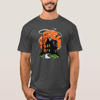 Vintage Halloween Haunted House T-Shirt