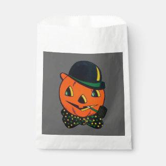 Vintage Halloween Holiday favor bag