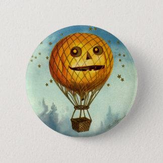 Vintage Halloween Hot Air Balloon Pin