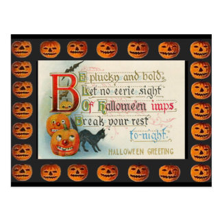 Vintage Halloween Imps Post Cards